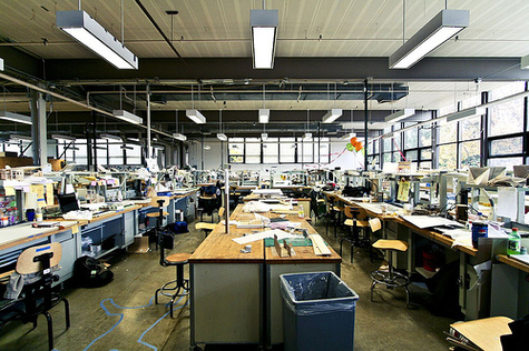 """Architecture School Studio think:lab: """"best learning experience ever invented"""""""